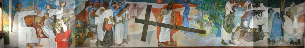 St Columba's Mural 3